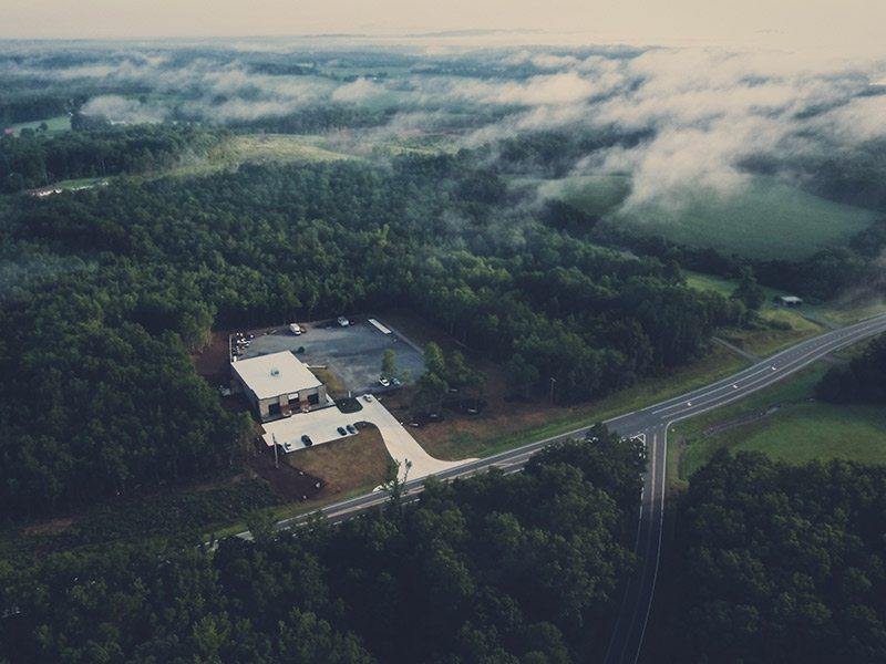 IPCD Inc Aerial View Left